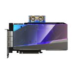 Gigabyte AORUS GeForce RTX 3090 XTREME WATERFORCE WB 24G NVIDIA 24 GB GDDR6X
