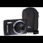 Praktica Luxmedia Z212 Camera Kit inc 32GB MicroSD Card & Case - Black