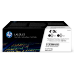 HP CF410XD (410X) Toner black, 6.5K pages, Pack qty 2