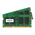 Crucial CT2K102464BF186D memory module 16 GB DDR3 1866 MHz