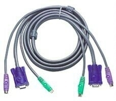 Aten PS/2 , 6m KVM cable Grey
