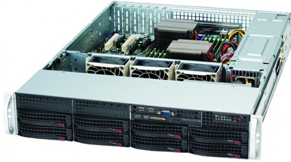 Supermicro CSE-825TQ-R720LPB 720W Black computer case