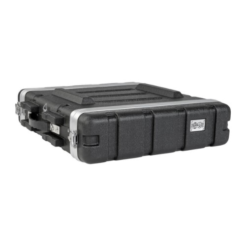 Tripp Lite 2U ABS ABS Server Rack Equipment Flight Case for Shipping & Transportation