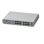 Allied Telesis AT-GS910/16 Unmanaged Gigabit Ethernet (10/100/1000) Grey