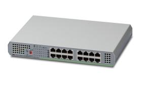 Allied Telesis AT-GS910/16 No administrado Gigabit Ethernet (10/100/1000) Gris