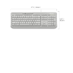 Microsoft Wired Keybaord 600 - White RETAIL