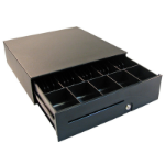 APG Cash Drawer T480-1-BL1616-M1 Metal Black cash box tray