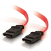 C2G 1m 7-pin SATA cable SATA 7-pin Red
