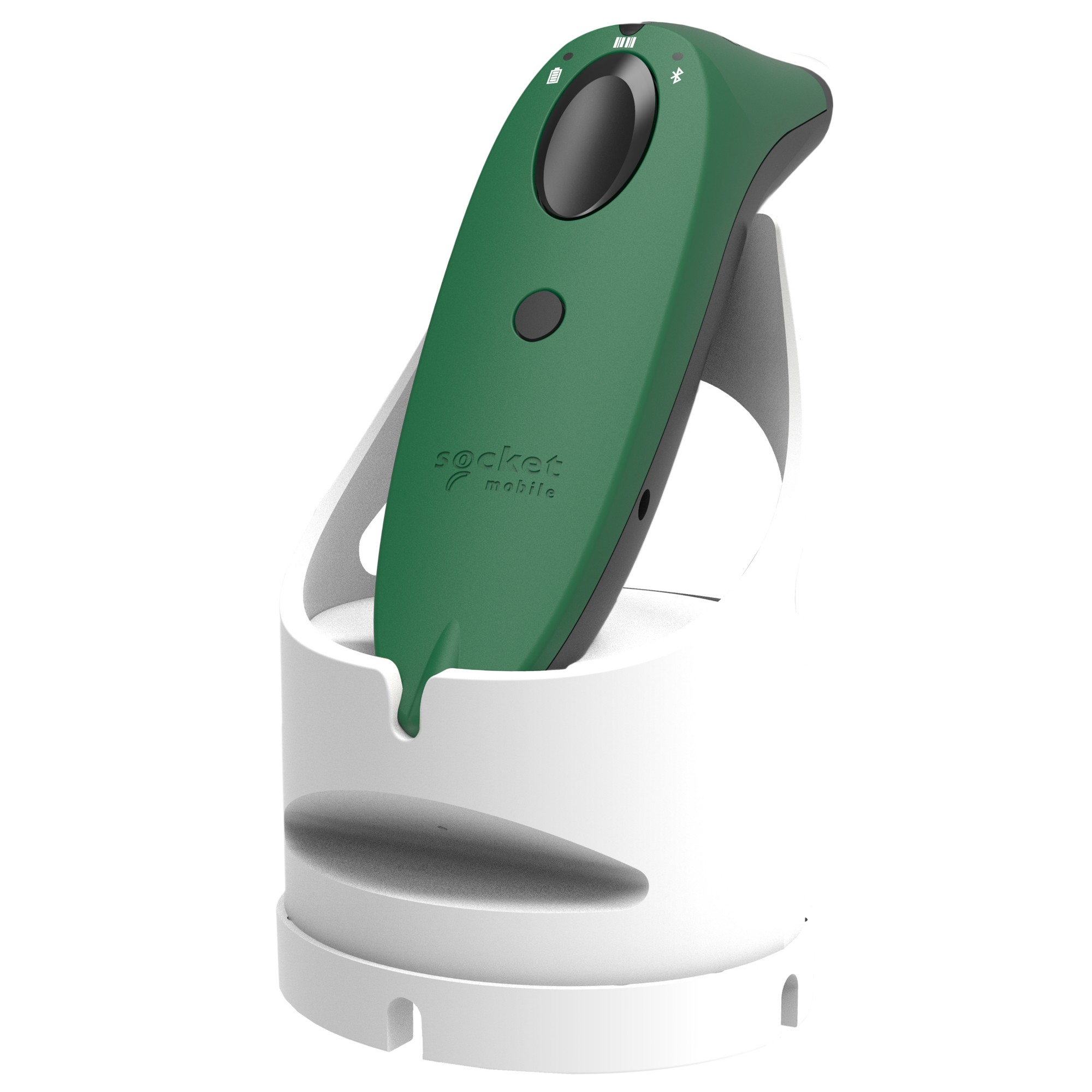 Socket Mobile SocketScan S740 Lector de códigos de barras portátil 1D/2D LED Verde, Blanco