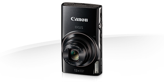 Digital Camera Ixus 285 Hs 25mm 12xzoom 20.2mpix 3.0in Black