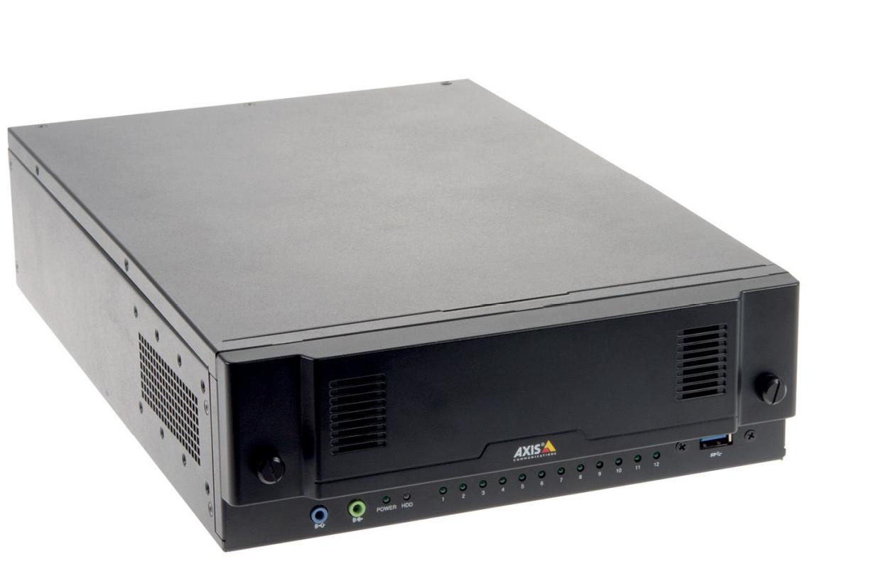 Axis S2212 Grabadore de vídeo en red (NVR) Negro