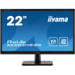 "iiyama ProLite X2283HS-B5 LED display 54.6 cm (21.5"") 1920 x 1080 pixels Full HD Black"