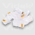 Videk Stewart RJ45 UTP Crimp Plugs - 10 Pack wire connector