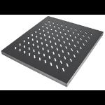 "Intellinet 19"" Fixed Shelf, 1U, 525mm Depth, Max 50kg, Black"