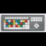 BigKeys LX ABC black letters colour keys Lower Case