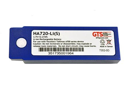 GTS HA720-LI(S) accesorio para dispositivo de mano Azul