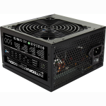 Aerocool Integrator 500W 80+ Certified PSU 12cm Black Fan Active PFC TW Caps UK Cable