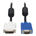 Tripp Lite DVI to VGA Monitor Cable, High Resolution Cable with RGB Coax (DVI-A to HD15 M/M), 0.91 m