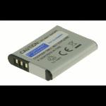 2-Power Digital Camera Battery 3.7V 750mAh rechargeable battery