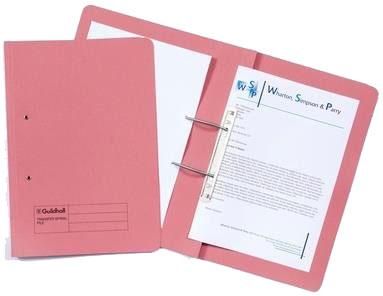 Guildhall 211/9064Z folder 216 mm x 343 mm Pink
