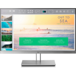 "HP EliteDisplay E233 58.4 cm (23"") 1920 x 1080 pixels Full HD LED Flat Black,Silver"