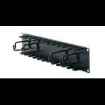 APC Horizontal Cable Organizer 2U w/cable fingers