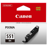 Canon 6508B001 (CLI-551 BK) Ink cartridge black, 1.8K pages, 7ml