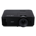Acer Essential X118 videoproyector 3600 lúmenes ANSI DLP SVGA (800x600) Ceiling-mounted projector Negro