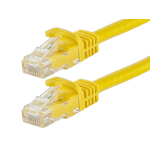 Monoprice 11390 2.1m Cat5e U/UTP (UTP) Yellow networking cable