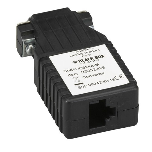 Black Box IC624A-M serial converter/repeater/isolator RS-232 RS-485