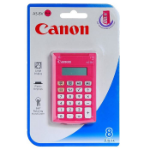 Canon AS-8 Pocket Basic Pink calculator