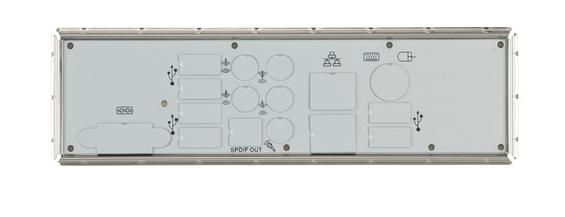 Supermicro MCP-260-00045-1N computer case part Rack I/O shield
