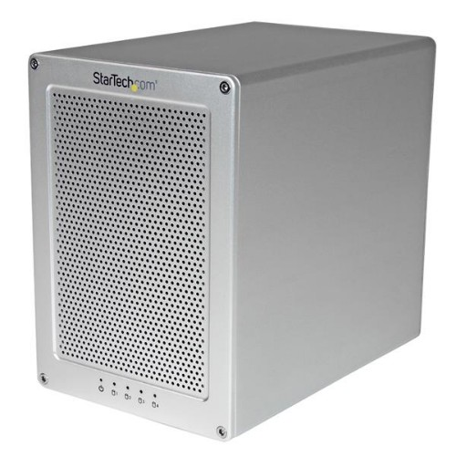 StarTech.com 4-Bay Enclosure for 3.5in SATA Drives - Thunderbolt 2 - RAID