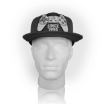 Sony PlayStation One Since 1994 Controller Snapback Baseball Cap, Dark Grey (SB128830SNY)