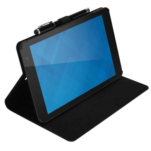 "DELL 460-BBHK tablet case 20.3 cm (8"") Folio Black"