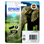 Epson C13T24354010 (24XL) Ink cartridge bright cyan, 500 pages, 10ml