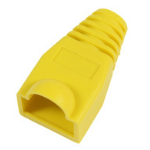 MicroConnect Boots RJ45 Yellow, 50pcs