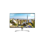 "LG 32UD99 31.5"" 4K Ultra HD IPS Silver, White Flat computer monitor LED display"