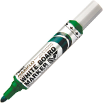 Pentel Whiteboard Marker Bullet Green Pack 12