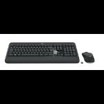 Logitech MK540 Advanced Tastatur RF Wireless Hebräisch Schwarz, Weiß