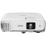 Epson EB-980W data projector 3800 ANSI lumens 3LCD WXGA (1280x800) Ceiling-mounted projector Gray, White