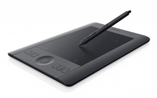 Wacom Intuos Pro S, EN & ES 5080lpi 158 x 98mm USB Black graphic tablet
