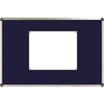 Nobo Classic Felt Noticeboard Blue 900x600mm