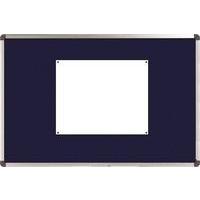 Nobo Classic Felt Noticeboard Blue 900x600mm