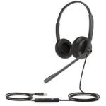 Yealink UH34 DUAL TEAMS headphones/headset Head-band USB Type-A Black