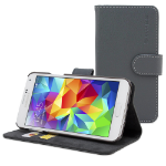 """TheSnugg B00U8QYC8W 5.1"""" Folio Grey mobile phone case"""