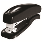 White Box WB ABS HALF STRIP STAPLER BLACK