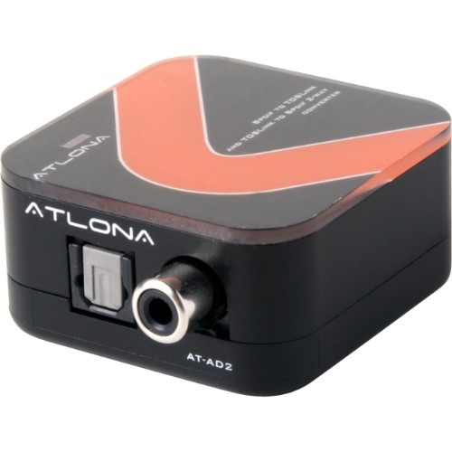 Atlona AT-AD2 Black,Red audio converter