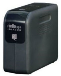 Riello ID 80 800VA Black uninterruptible power supply (UPS)