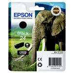 Epson C13T24214012 (24) Ink cartridge black, 360 pages, 5ml